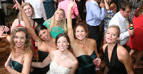 Pittsburgh wedding DJ University Club